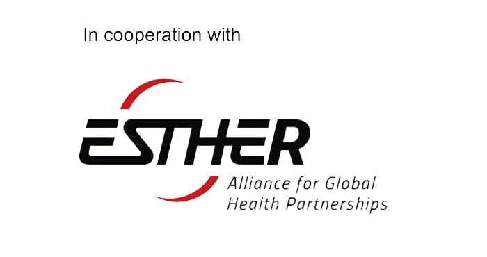 In cooperation with Esther Logo