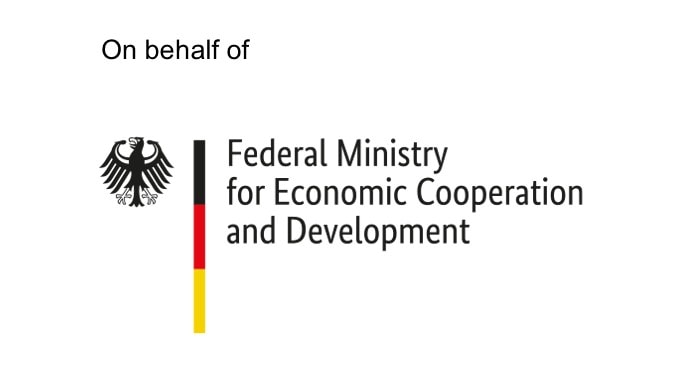 on behalf of federal ministry for economic cooperation and development